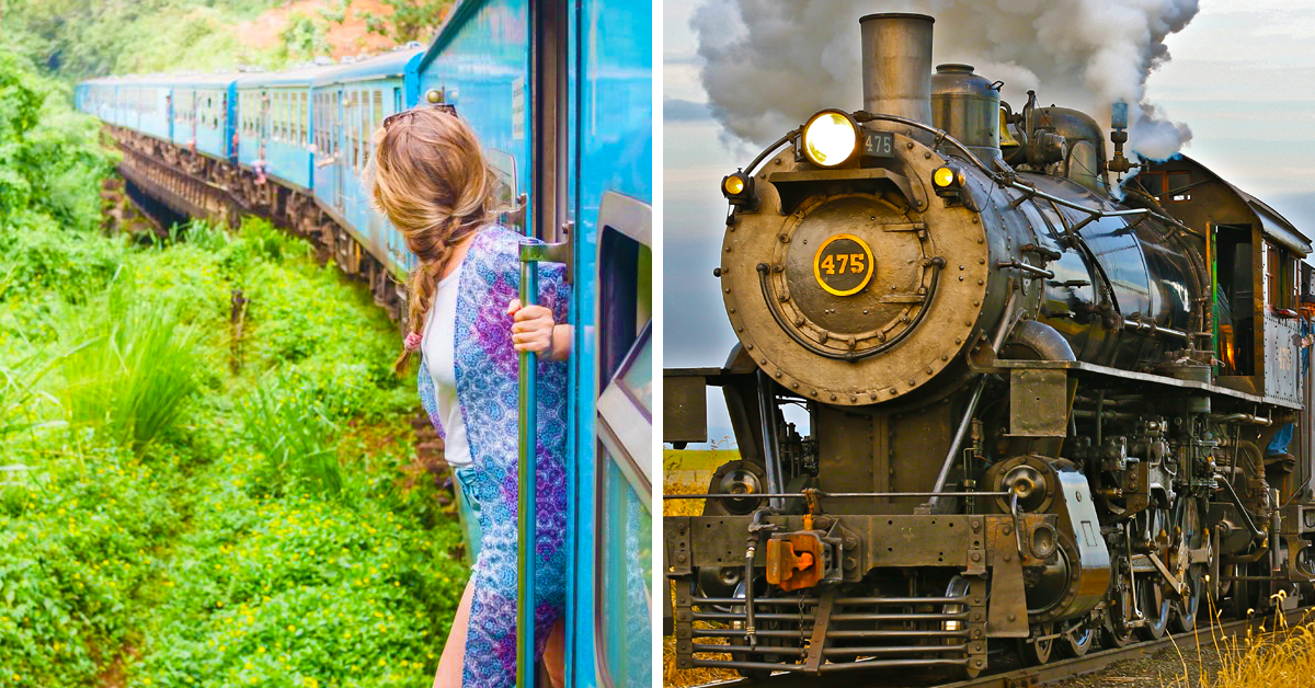 We Present: The 20 Most Stunning Train Journeys In America