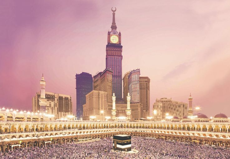 ABRAJ AL-BAIT CLOCK TOWER, MECCA, SAUDI ARABIA