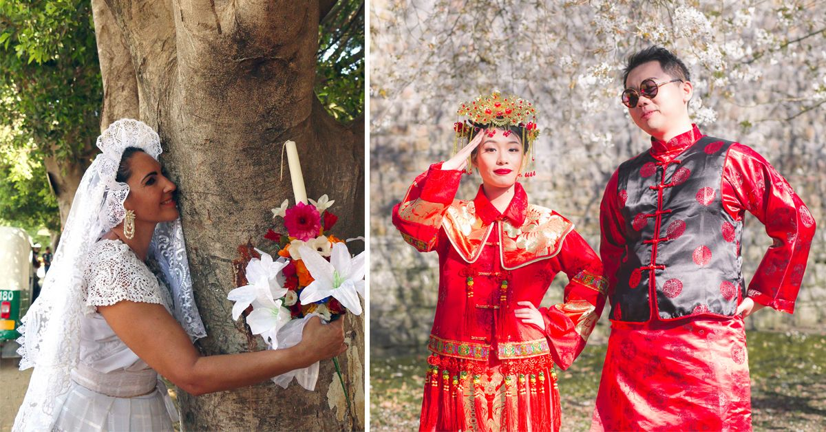 30 Weird Wedding Traditions From All Around The World