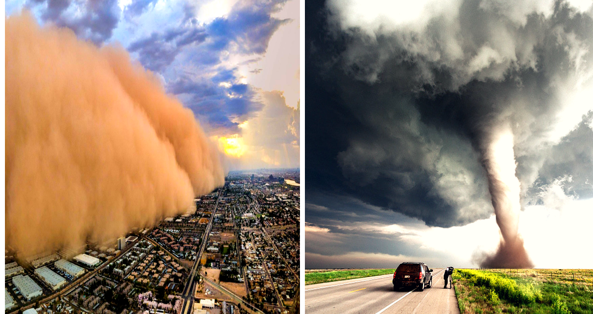 25 USA Cities Most Likely To Be Hit By A Tornado | TheTravel