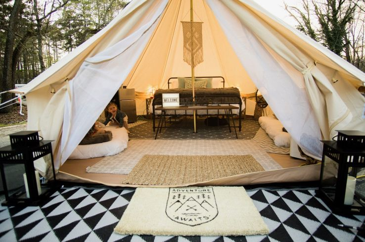 10 Luxurious Glampsites Across The U S  | TheTravel