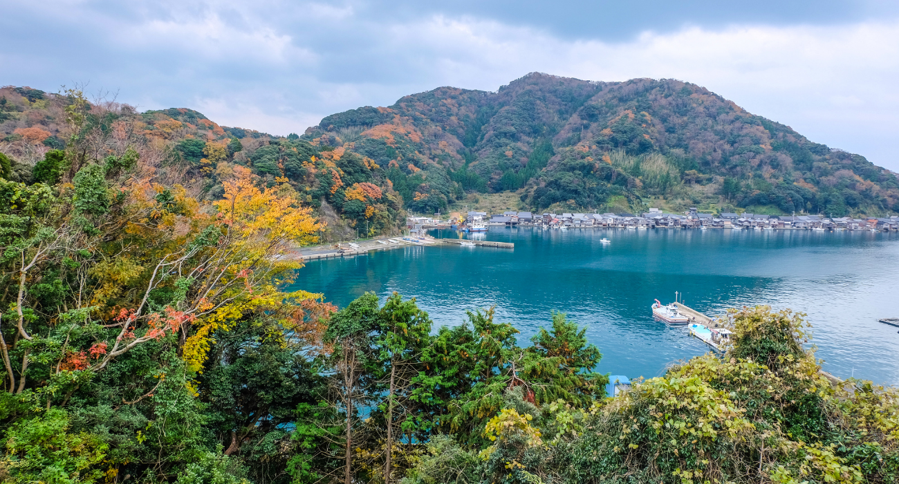 Ine, Japan Is Home To Waterfront Fishing Houses Called 'Funaya,' And They're Quite A Sight To See