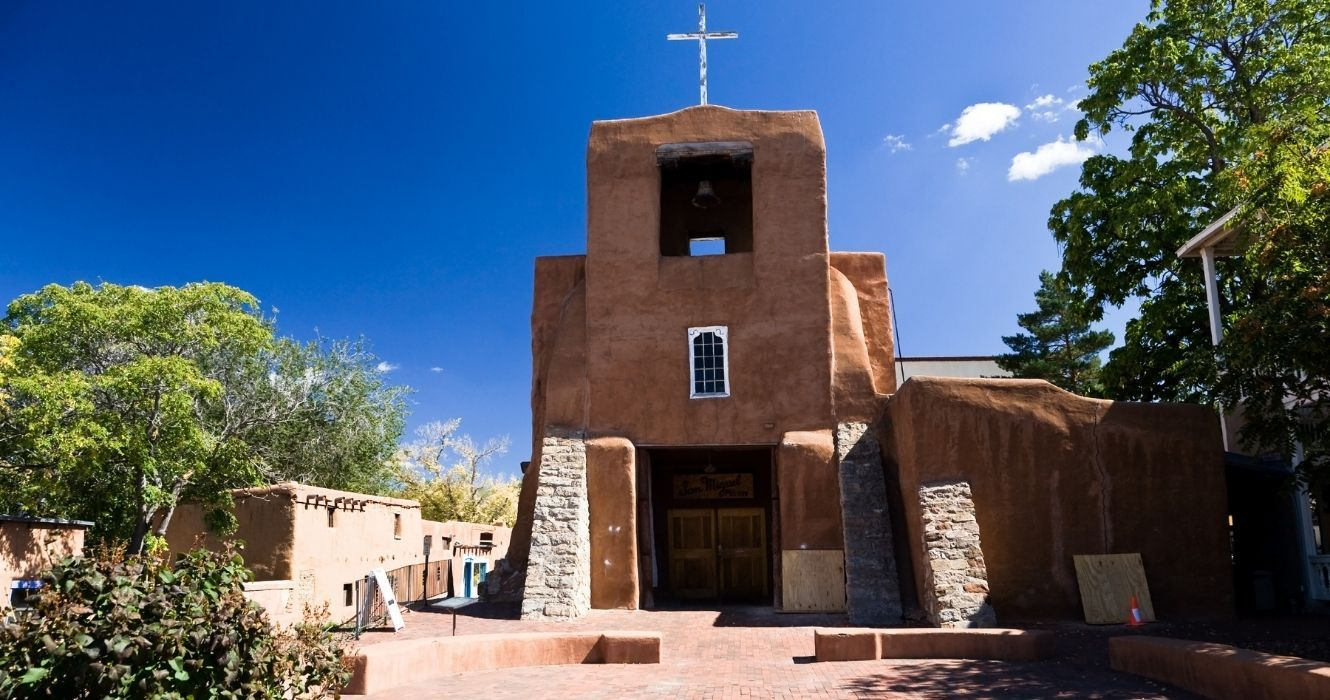 To Visit The Site Of The Oldest Church In The U.S., You'd Need To Go To New Mexico