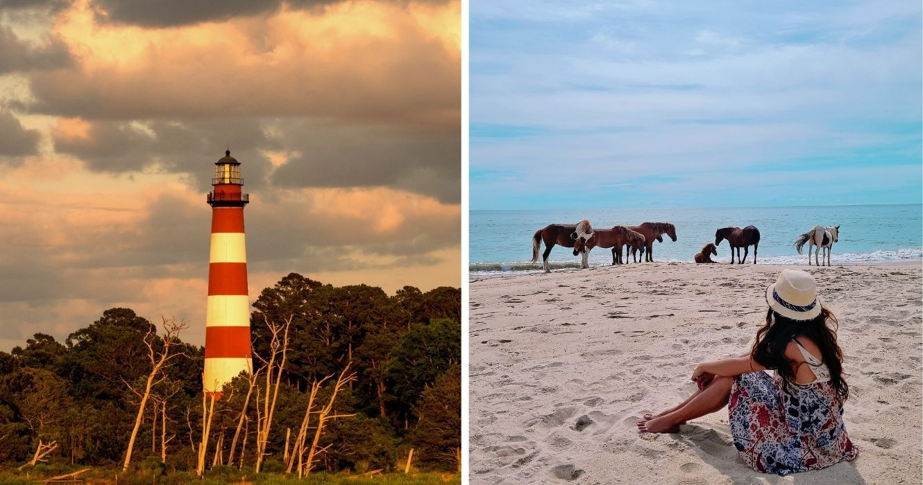 The Complete Weekend Guide To Chincoteague Island (And Its Famed Wild Ponies)