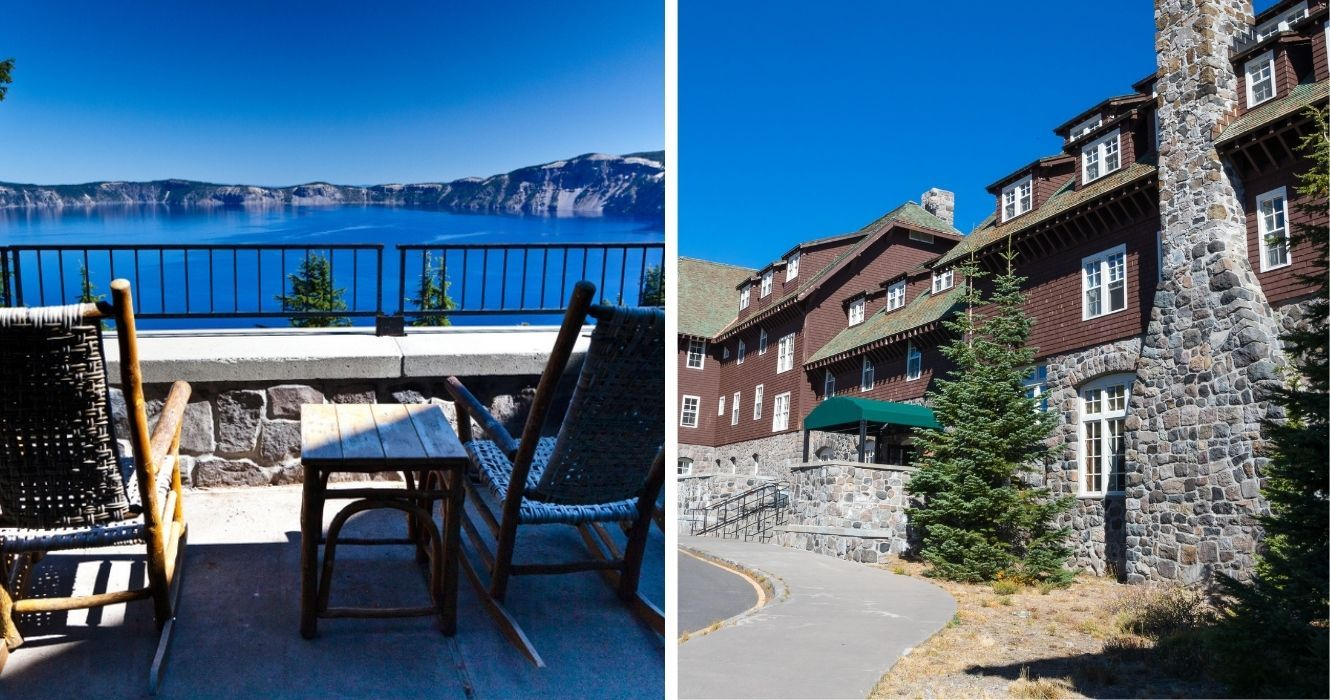 This Is Why Crater Lake Lodge Is The Best Option To See Oregon's Bluest Caldera Lake