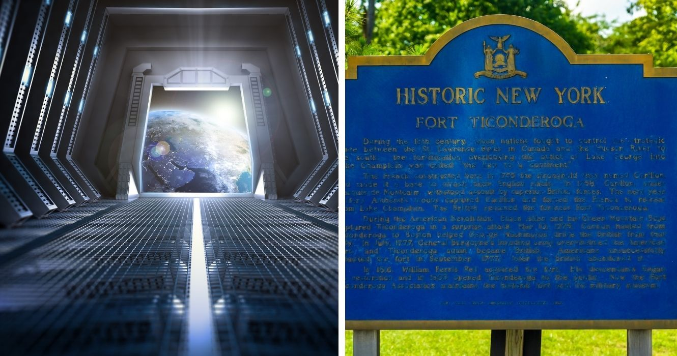 You Can Actually Visit The Star Trek TV Sets In Ticonderoga, New York