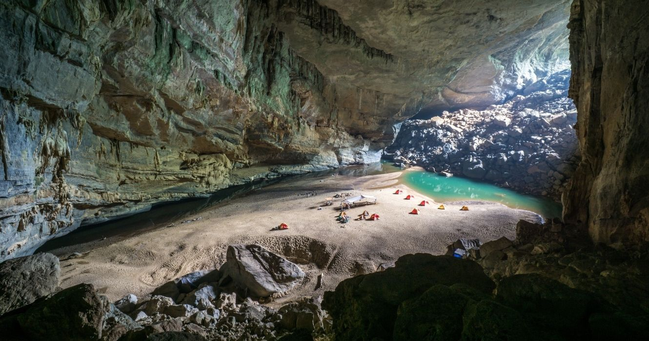 There's An Entire Forest Inside Of This Vietnam Cave, And It's Worth Touring