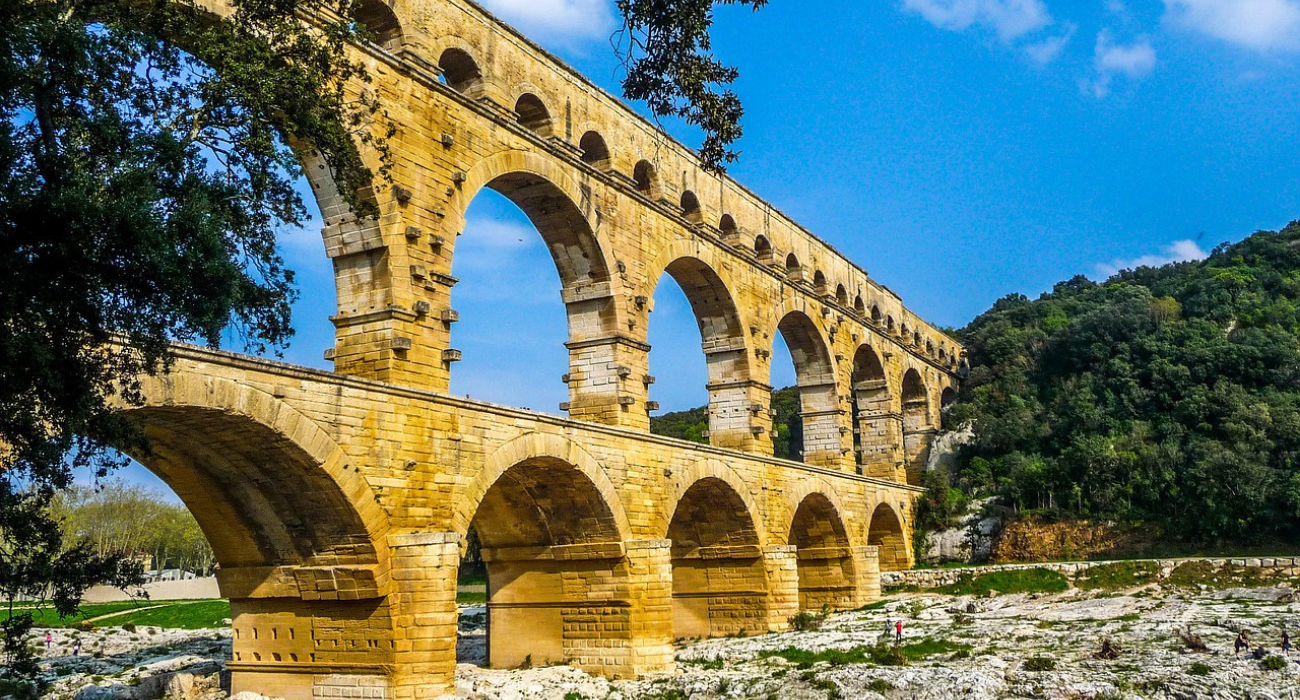 This Ancient Aqueduct Is The Most Impressive & Best Preserved Roman Ruin